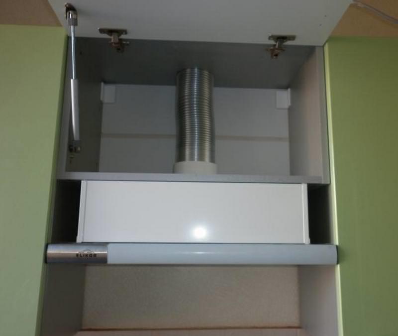 Шкаф для встроенной вытяжки своими руками 772
